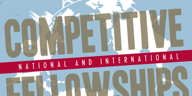 Competitive Fellowships Brochure