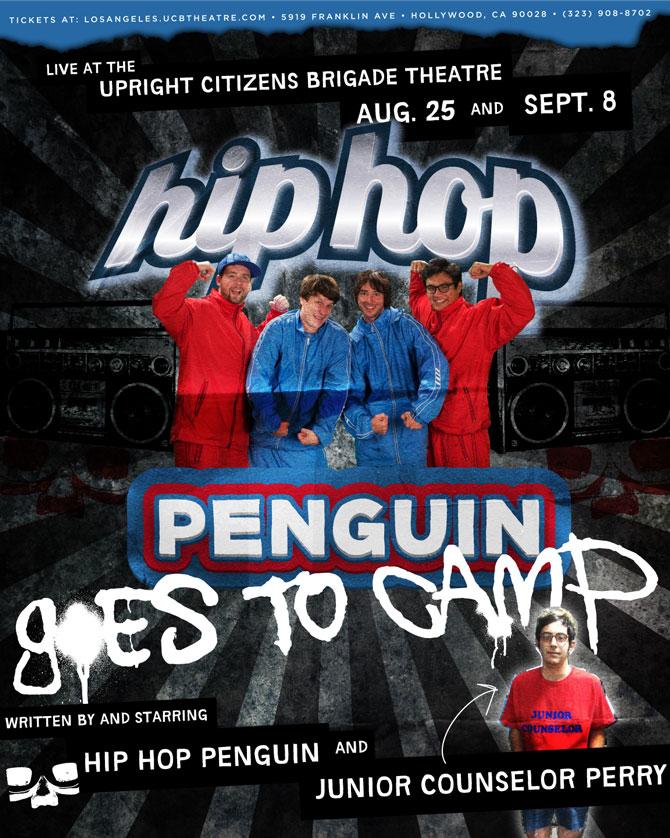 Hip Hop Penguin