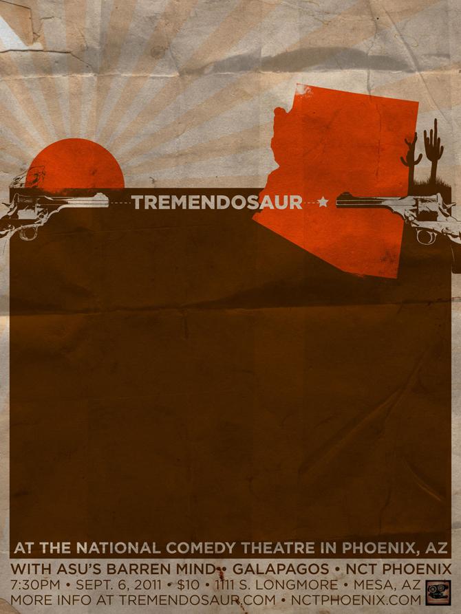Tremendosaur SXSW Tour