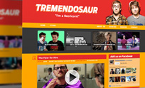 Tremendosaur Website